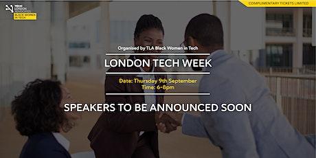 London Tech Week tickets