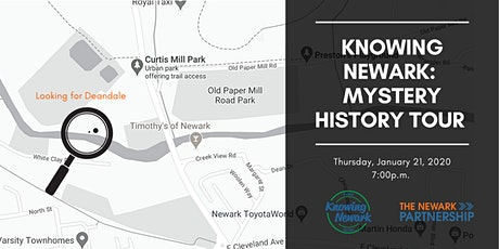 Knowing Newark: Mystery History Tour tickets