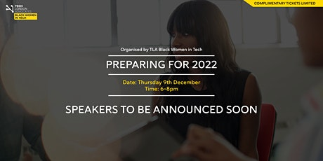 Preparing for 2022 biglietti