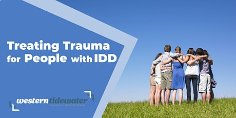 Treating Trauma for People with IDD tickets