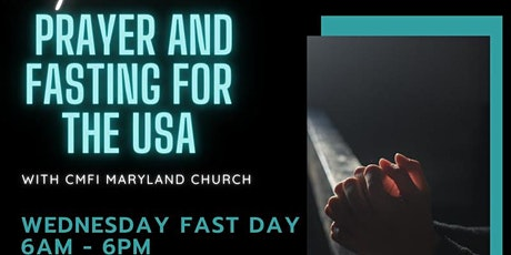 Prayer & Fasting for the USA tickets