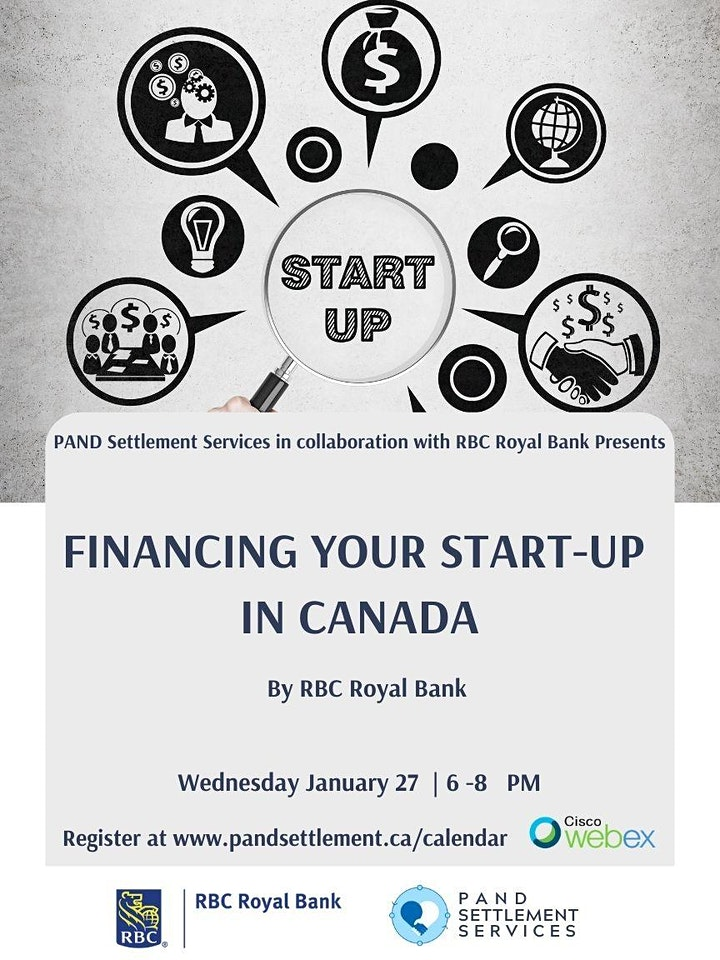 Financing your Start-up IN CANADA  by RBC Royal Bank image