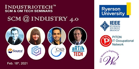 IndustrioTech©  Talk Series: Supply Chain @ Industry 4.0 tickets