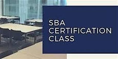 SBA Federal Small Business Certifications Workshop LIVE WEBINAR ingressos