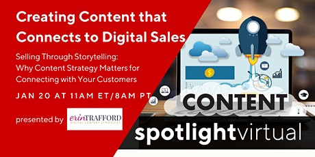 Creating Content that Connects to Digital Sales tickets