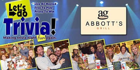 LAUREL, DE - Let's Do Trivia! @ Abbott's on Broad Creek - CONTACT FREE! tickets