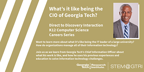 Direct to Discovery - What is it like being the CIO of a university? tickets