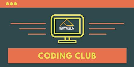 STEAM Workshop: Coding Club Beginner tickets