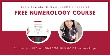 FREE Numerology Starter Course bilhetes
