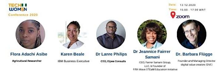 2020 TechWomen Nigeria Conference (Online) image