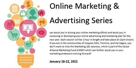 Online Marketing and Advertising Series tickets