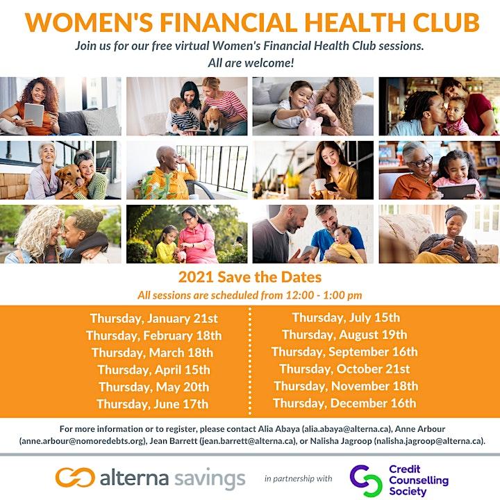 Women's Financial Health Club image