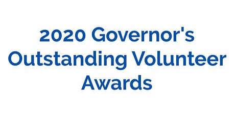 Governor's Outstanding Volunteer Awards Virtual Ceremony tickets