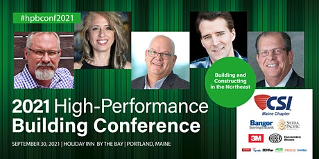 2021 High-Performance Building Conference tickets