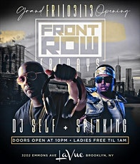 FRONT ROW FRIDAYS @ LA VUE W/ DJ SELF  & DJ SPINKING OF POWER 105.1 tickets