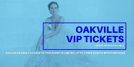 Oakville Pop Up Wedding Dress Sale VIP Early Access tickets