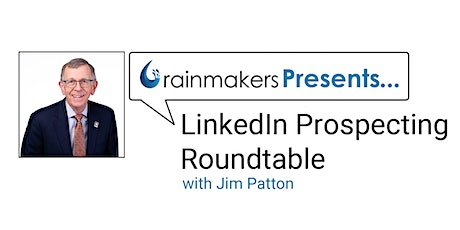 LinkedIn Prospecting Roundtable tickets