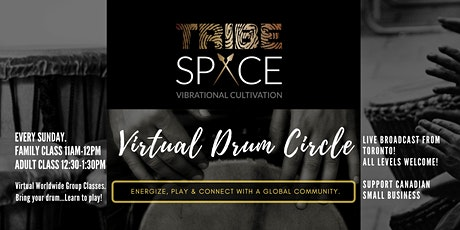 Virtual Drum Circle w/ TirbeSPACE Toronto tickets