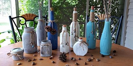 Chalk Paint Bottle Workshop (Virtual) tickets