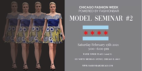 Model Seminar - WALKING CLASS  2nd Session FOR 2021! tickets