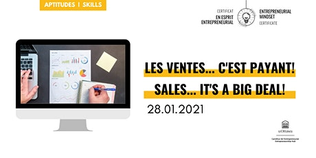 CEE: Les ventes... c'est payant! | EMC: Sales.. It's A Big Deal! billets