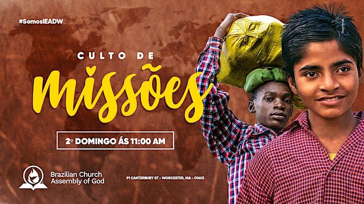 Imagem do evento Culto missão