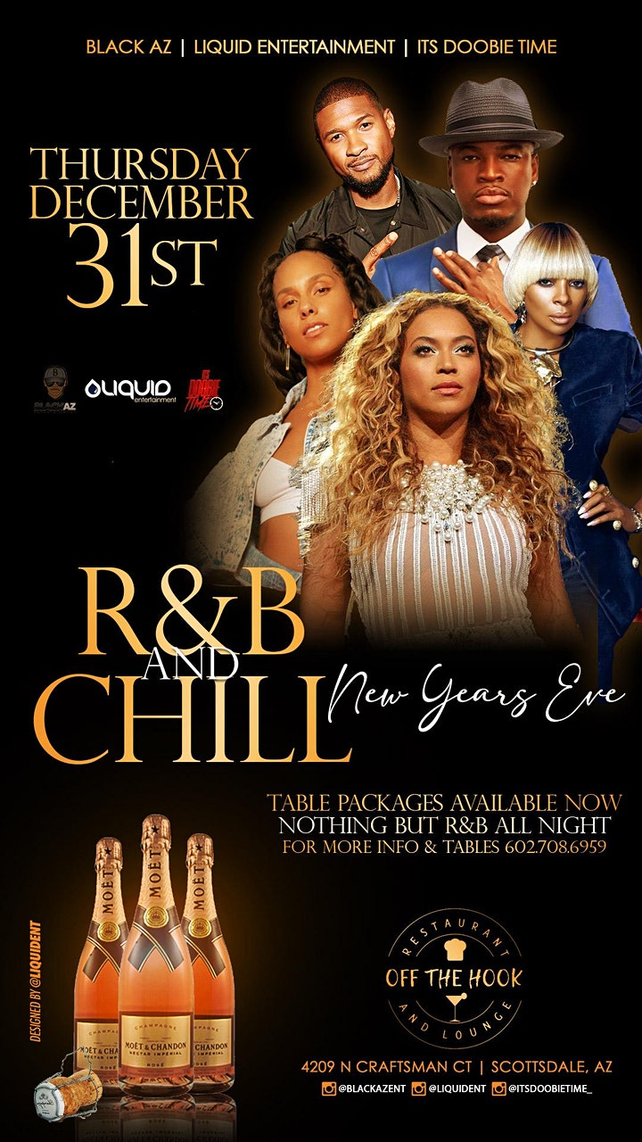 R&B n CHILL New Years Eve image