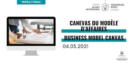 CEE: Canevas du modèle d'affaires | EMC: Business Model Canvas entradas