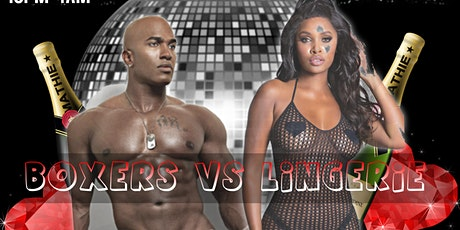 BOXERS VS. LINGERIE :  JAMS EVENTS VALENTINES SOIREE tickets