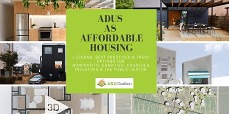 ADUs as  Affordable Housing tickets
