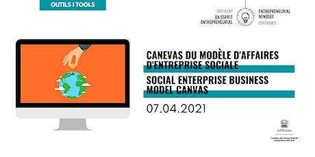 CEE: Canevas du modèle d'affaires d'enterrpise sociale | EMC: Social BMC tickets
