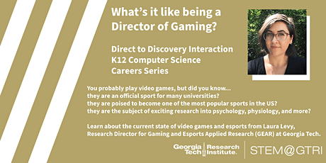 Direct to Discovery - What is it like to be a Director of Gaming? tickets