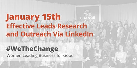 Effective Leads Research and Outreach Via LinkedIn tickets