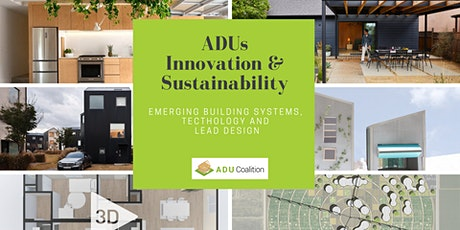 ADUs Innovation & Sustainability biglietti