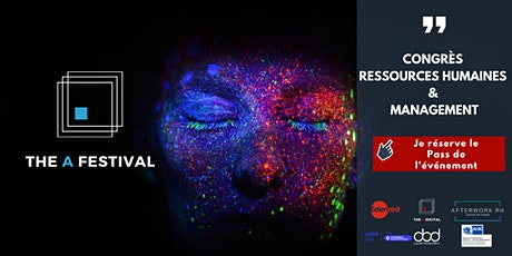 The A Festival | Congrès Ressources Humaines & Management | Lille tickets