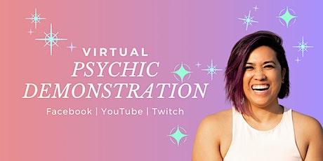 Virtual Psychic Demonstration tickets