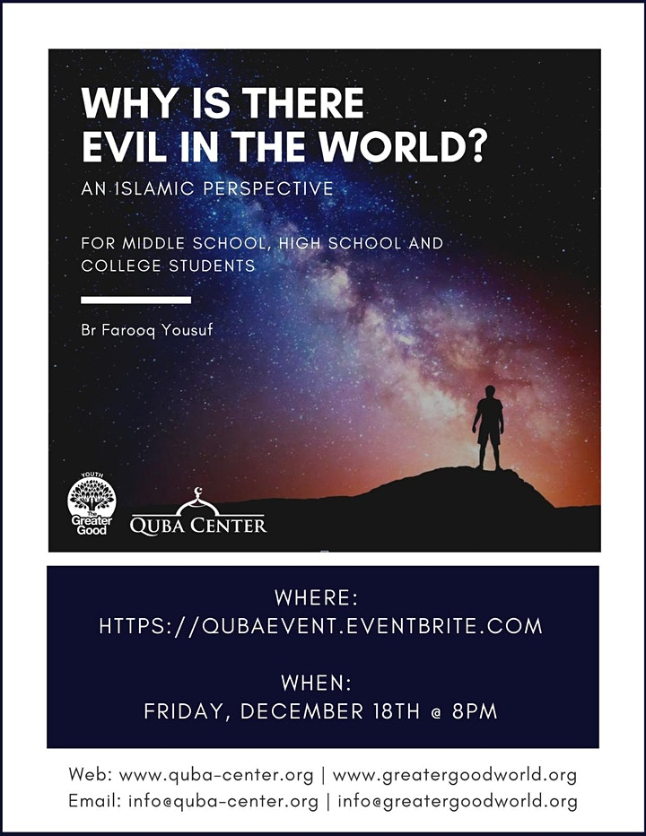 Why is There Evil in the World? image
