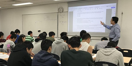 Mr Zhang's Seminar:  Secret to Success In HSC tickets