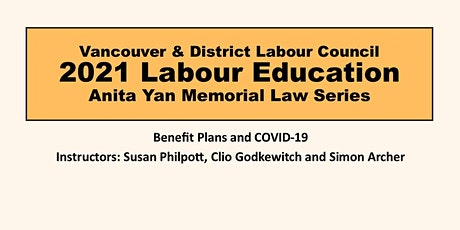 Benefit Plans and COVID-19 tickets