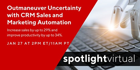 Outmaneuver Uncertainty with CRM Sales & Marketing Automation tickets