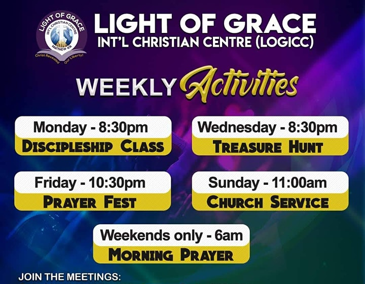 LOGICC Sunday Church Services - ONLINE image