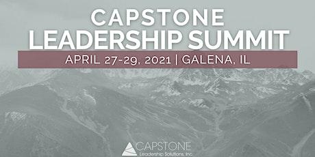 2021 Capstone Leadership Summit (2.5 days) - Galena, IL tickets