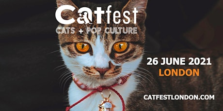 CATFEST | cats + pop culture | UK's 1st cat festival | catfestlondon.com tickets