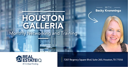 [ONLINE EVENT] Houston - Galleria Monthly Deal Finding Training tickets