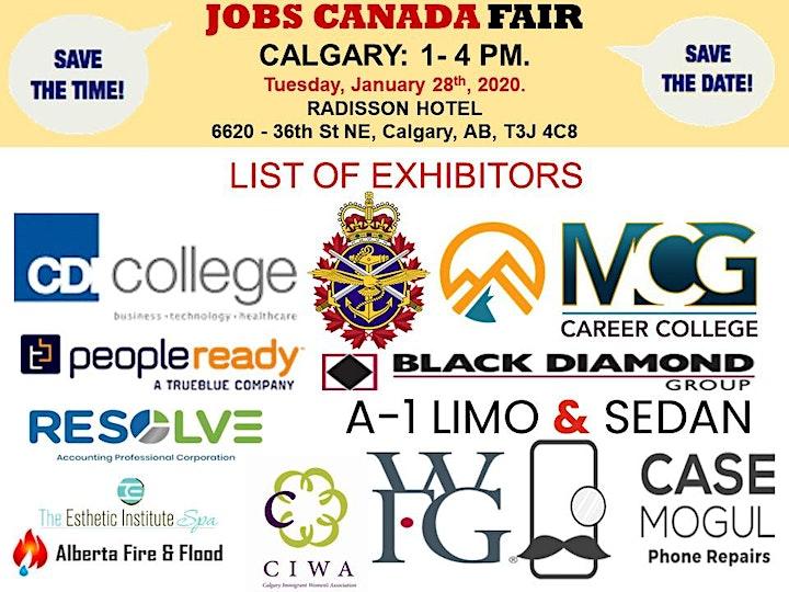 Calgary Job fair - November 20th 2019 image