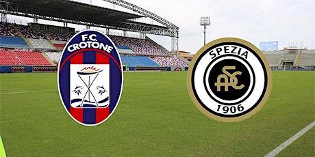 Coppa-Italia@!.Crotone - Spezia in. Dirett Live 12 Dicembre 2020 biglietti