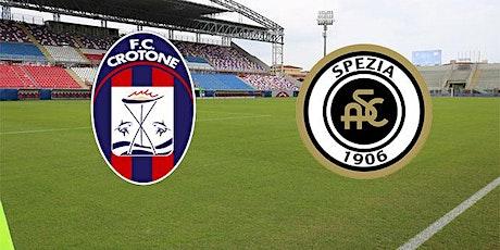 IT-STREAMS@!.Crotone - Spezia in. Dirett Live 12 Dicembre 2020 biglietti