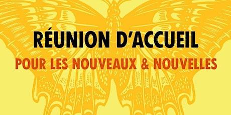 Réunion d'accueil XR Dijon billets