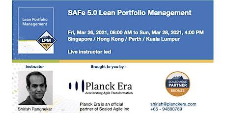 SAFe 5.0 Lean Portfolio Management biglietti