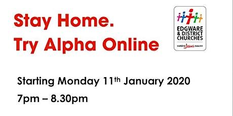 Alpha Course online tickets